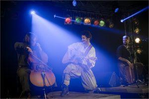 Mit Cello und Cachon: Sören Vogelsang