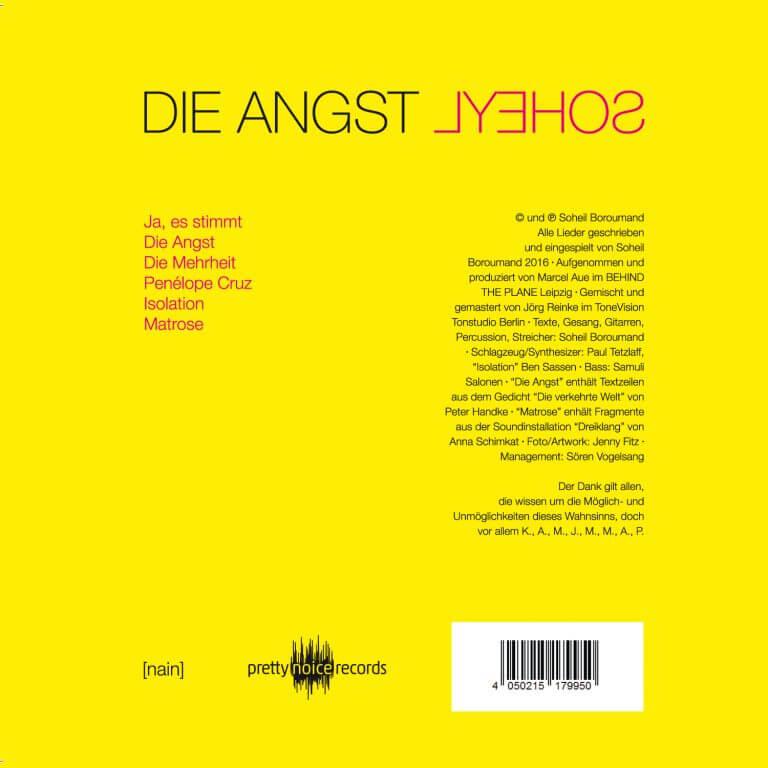 SOHEYL's Album Die Angst