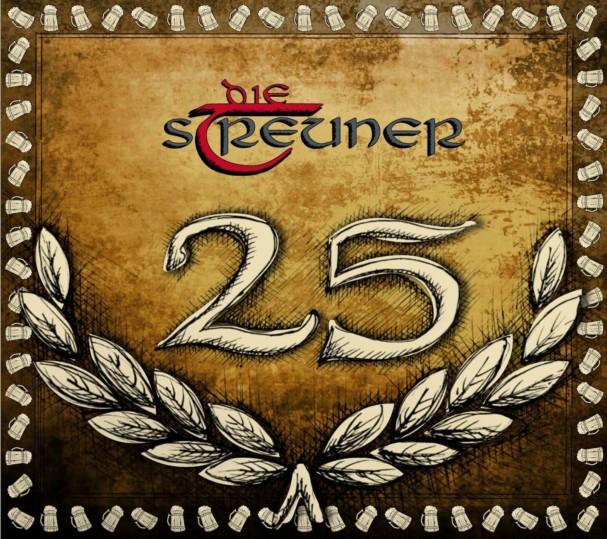 Jubiläumscover 25 Jahre Die Streuner