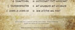 Das Album Tavernenpiraten von Vollbard