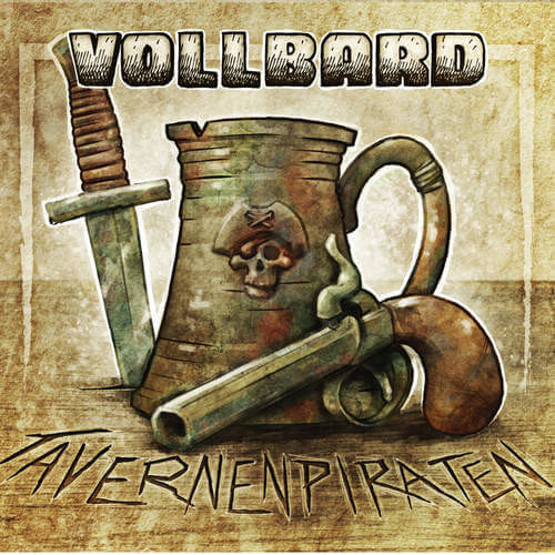 Das Albumcover Tavernenpiraten von Vollbard